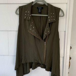 Torrid Studded vest